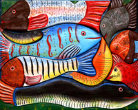 "Fish Art 504 Piece 16"" X 20"""