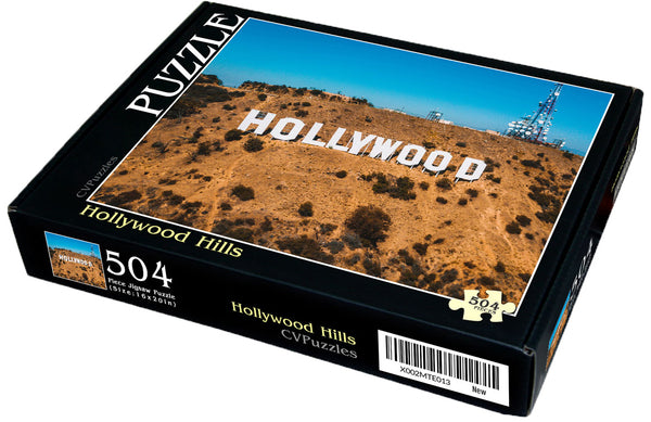 "Hollywood Hills 504 Piece Jigsaw Puzzle 16"" X 20"""