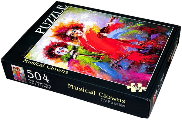 "Musical Clowns 504 Piece 16"" X 20"""