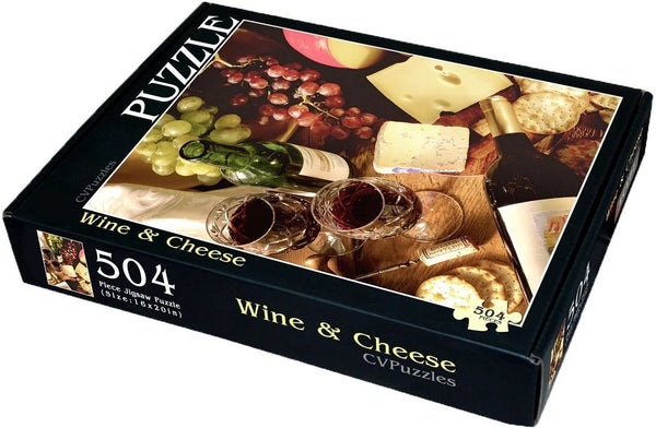 "Wine & Cheese 504 Piece 16"" X 20"""