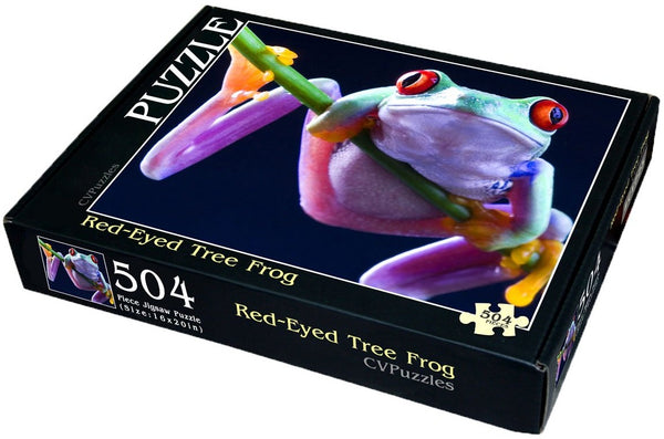 "Red-Eyed Tree Frog 504 Piece 16"" X 20"""