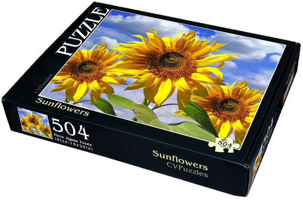 "Sunflowers 504 Piece 16"" X 20"""