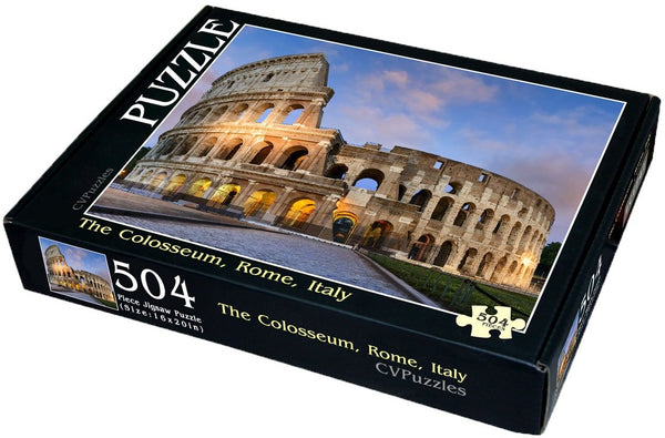 "The Colosseum, Rome, Italy 504 Piece 16"" X 20"""