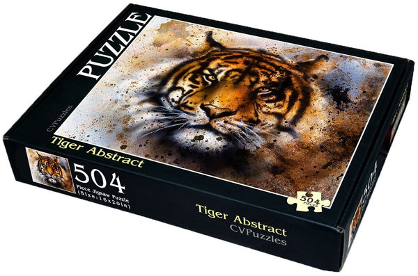 "Tiger Abstract 504 Piece 16"" X 20"""
