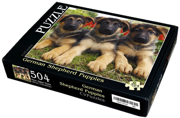 "German Shepherd Puppies 504 Piece 16"" X 20"""