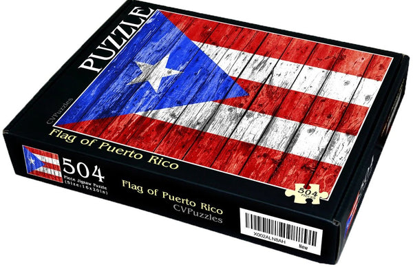 "Flag of Puerto Rico 504 Piece 16"" X 20"""