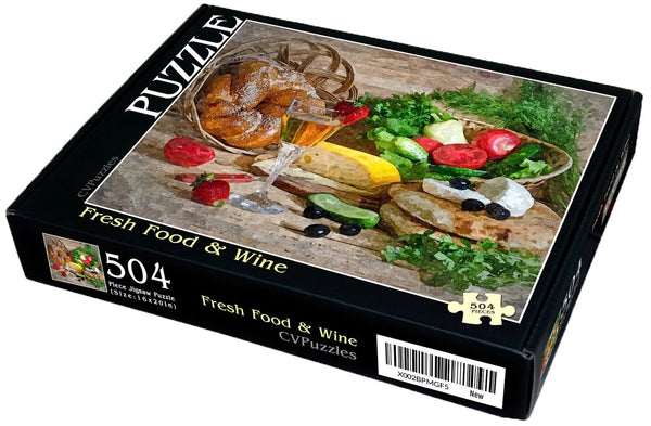 "Fresh Food & Wine 504 Piece 16"" X 20"""