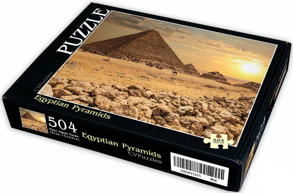 "Egyptian Pyramids 504 Piece 16"" X 20"""