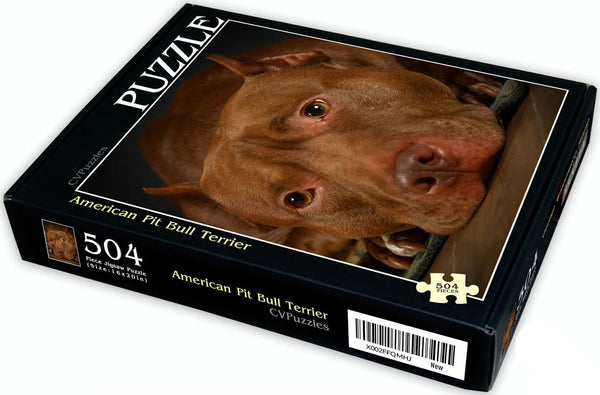 "American Pit Bull Terrier 504 Piece 16"" X 20"""