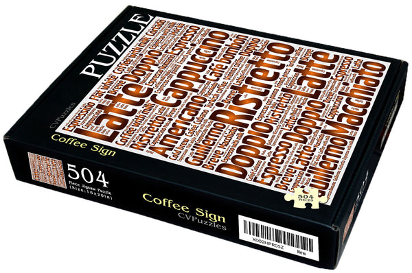 "Coffee Sign 504 Piece 16"" X 20"""