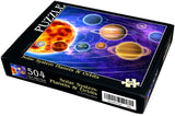 "Solar System Planets & Orbits 504 Piece 16"" X 20"""
