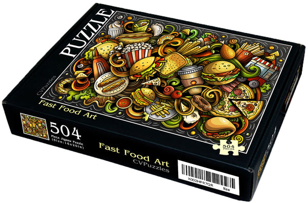 "Fast Food Art 504 Piece 16"" X 20"""