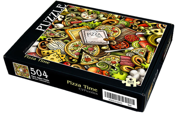 "Pizza Time 504 Piece 16"" X 20"""