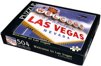 "Welcome to Las Vegas 504 Piece 16"" X 20"""