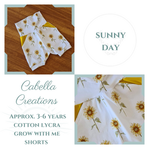Cabella - Grow With Me Shorts 3-6 years
