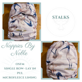 Nappies by Noble - Single Row (OSFM) MCN