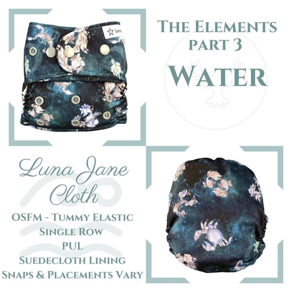 Exclusive Print - Luna Jane Cloth - Single Row (OSFM) MCN