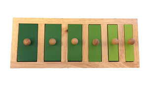 Narrow-wide knob puzzle (5x15x28cm)