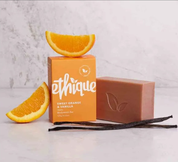 Bodywash Bar-Sweet Orange & Vanilla