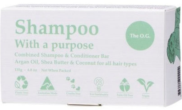 Shampoo & Conditioner Bar – The O.G