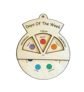 Learning Wheels - Days of the Week