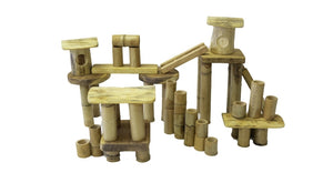 Bamboo Building Set 50PCS