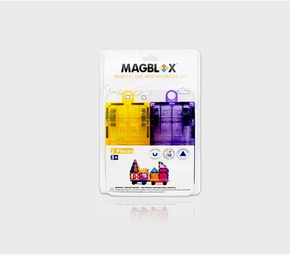 Car twin Pack Magblox