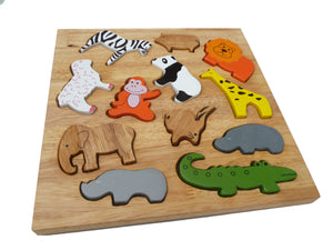 Animal Play Set & Puzzle