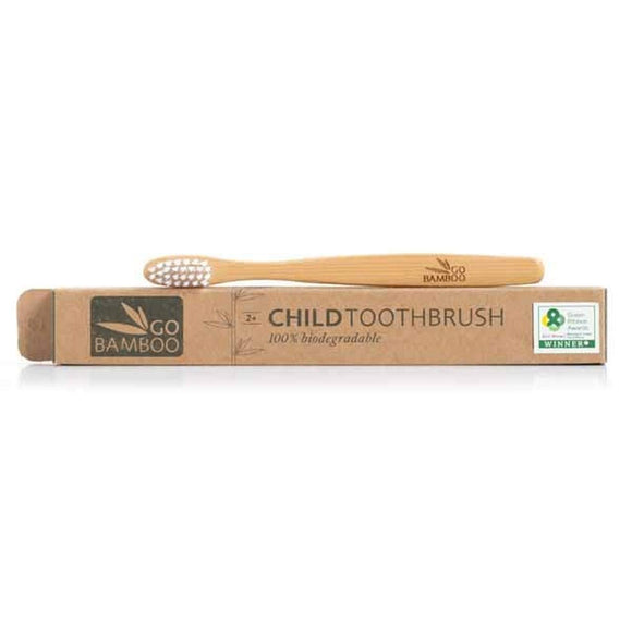 Child Bamboo Biodegradable Toothbrush