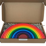 My Happy Helpers Large Wooden Rainbow Stacker