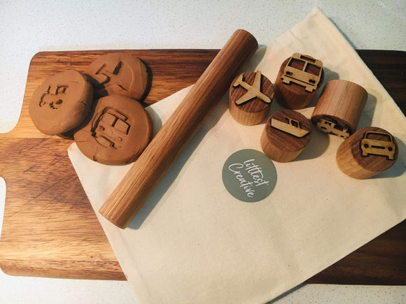 Play dough stamps pack
