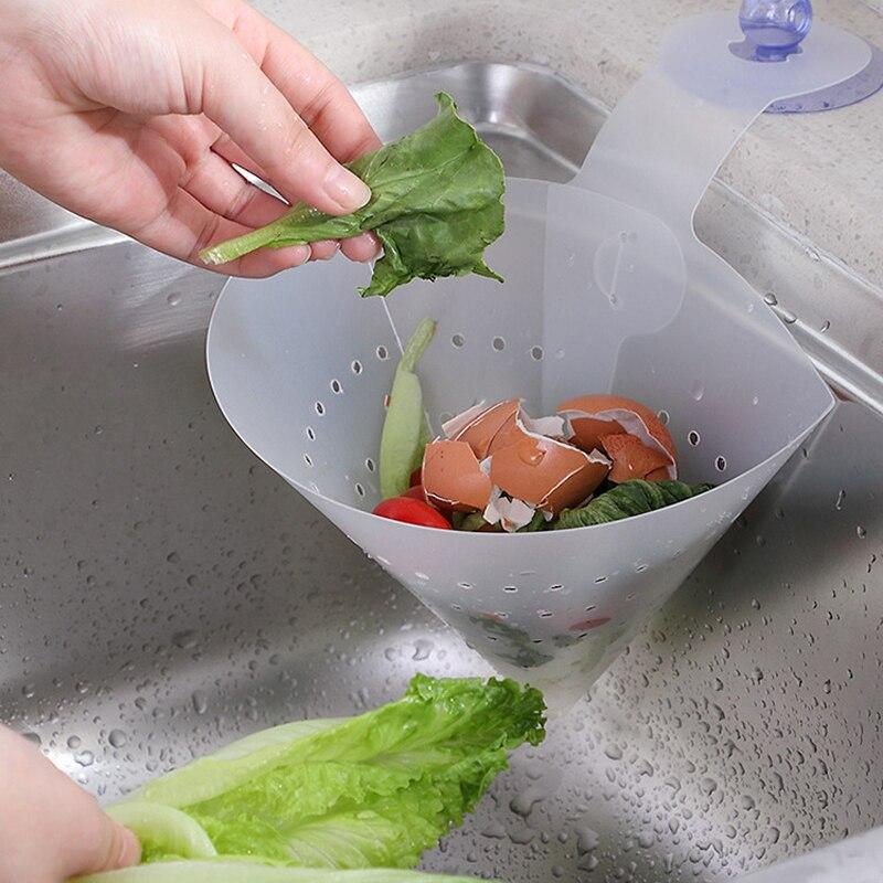 Food Drain Cleaning Basket Strainer