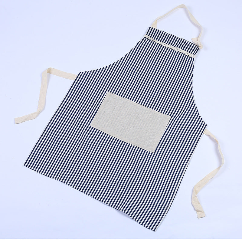 Stripe Canvas Apron