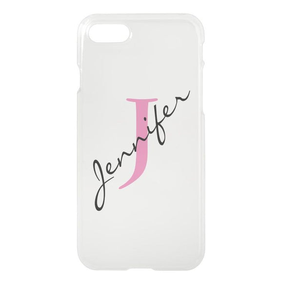Name Printed Case Available For 650+ Phone Models