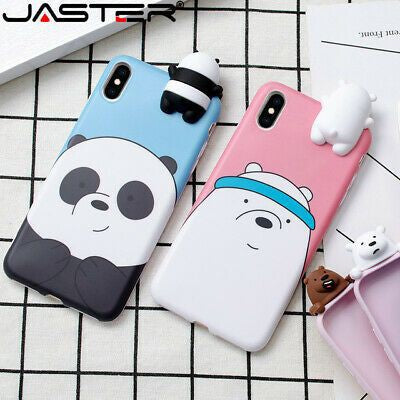 Panda Printed Case With Toy Available For 650+Phone Models
