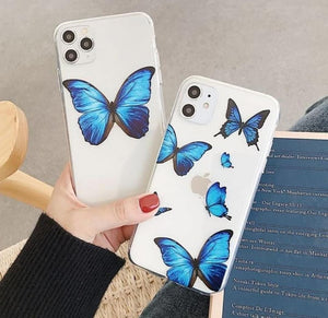 Butterfly Printed Silicone Case Available For 250+ Phone Models