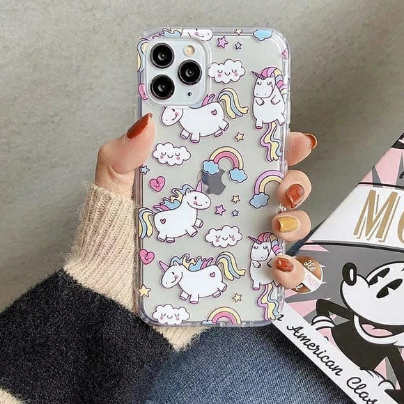 Unicorn Printed Silicone Case Available For 250+ Phone Models