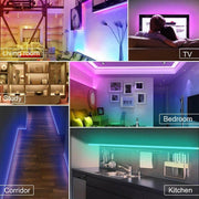 Bluetooth LED strip light 65.6 feet, smartphone APP control - cozylady