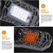 LED Garage Lights(2-Pack) - cozylady