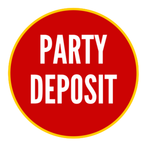 Party Deposit - Ignite the Senses Children's Gym