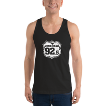Load image into Gallery viewer, BLACK Unisex Jersey Tank Top