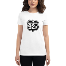 Load image into Gallery viewer, WHITE Ladies Premium Short Sleeve