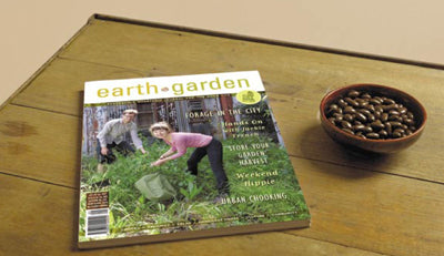 The all new Earth Garden magazine