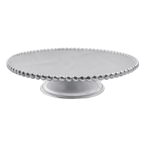 Pearled Cake Stand-Table Accessories | Mariposa