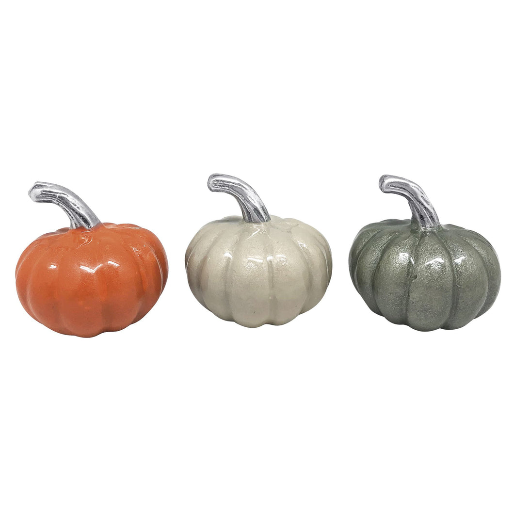 Pumpkin Napkin Weight Set-Napkin Weights | Mariposa