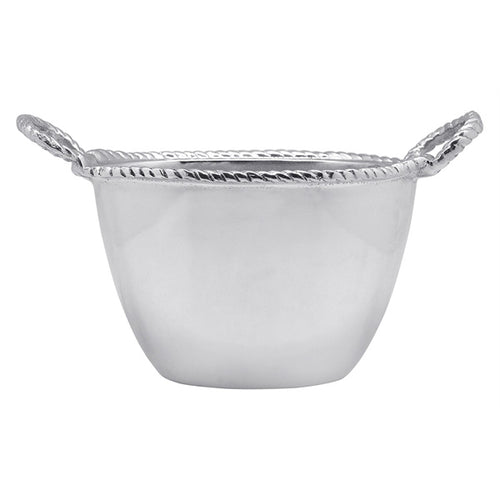 Rope Oval Small Ice Bucket | Mariposa Barware
