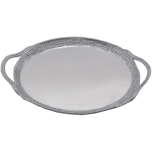 Rope Oval Cocktail Tray | Mariposa Serving Trays and More