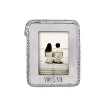 Load image into Gallery viewer, You & Me Rope 5x7 Frame | Mariposa Photo Frames