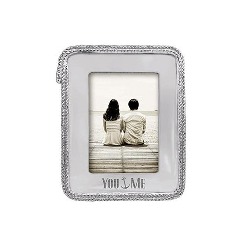 You & Me Rope 5x7 Frame-Photo Frames | Mariposa