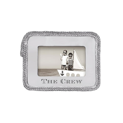 The Crew Rope 4x6 Frame | Mariposa Photo Frames